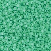 Miyuki Delica Beads 1,6mm Duracoat dyed Opaque Sea Opal DB2125 ca 7,2 gr