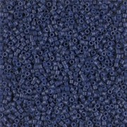 Miyuki Delica Beads 1,6mm Duracoat Opaque Dyed Navy DB2143 ca 7,2 gr