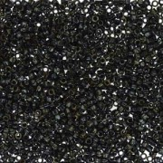 Miyuki Delica Beads 1,6mm DB2261 Picasso matt Smoky Black ca 5gr