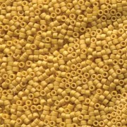 Miyuki Delica Beads 1,6mm DB2285 opaque glaced frosted Beige ca 5gr