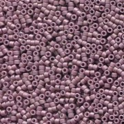 Miyuki Delica Beads 1,6mm DB2295 opaque glaced frosted Mauve ca 5gr