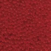 Miyuki Drop Beads 3,4mm 0140F matt transparent Red ca 10gr