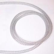 Edelstahlschlauch 5mm Durchmesser 1m lang