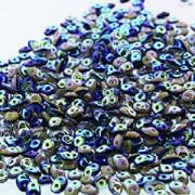 SuperDuo Perlen 2,5x5mm Navi Ivory FullAB DU0533413-28703-125 ca 24gr