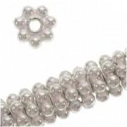 Spacer Daisy 4mm Bali 925er Silber 1 Stück