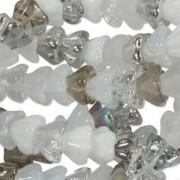 Glasperlen gepresst Blütenkelch 11X13mm MIX12 Apparition 50 Stück