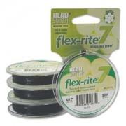 Flexrite 7strängig 0,3mm Schwarz 9,14m