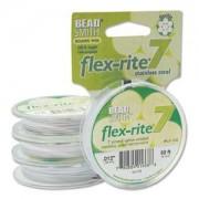 Flexrite 7strängig 0,3mm Weiß 9,14m