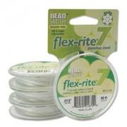 Flexrite 7strängig 0,3mm Perlsilber 9,14m