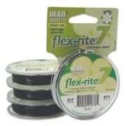 Flexrite 7strängig 0,35mm Schwarz 9,14m