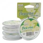 Flexrite 7strängig 0,35mm Weiß 9,14m