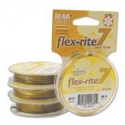 Flexrite 7strängig 0,35mm Messing 9,14m