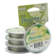 Flexrite 7strängig 0,45mm Silberfarben 9,14m