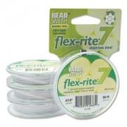 Flexrite 7strängig 0,45mm Weiß 9,14m