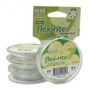 Flexrite 7strängig 0,45mm Perlsilber 9,14m