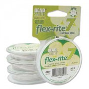 Flexrite 7strängig 0,5mm Weiß 9,14m