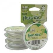 Flexrite 7strängig 0,5mm Perlsilber 9,14m