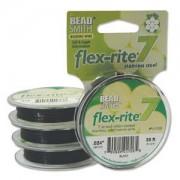 Flexrite 7strängig 0,6mm Schwarz 9,14m