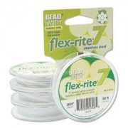 Flexrite 7strängig 0,6mm Weiß 9,14m