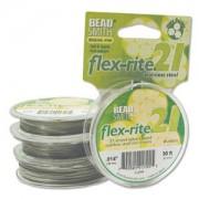 Flexrite 21strängig 0,35mm Silberfarben 9,14m