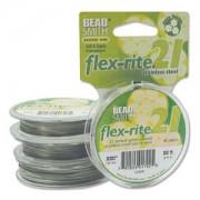 Flexrite 21strängig 0,5mm Silberfarben 9,14m