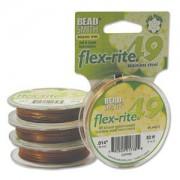 Flexrite 49strängig 0,35mm Copper 9,14m