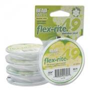 Flexrite 49strängig 0,6mm Weiß 9,14m