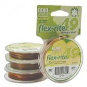 Flexrite 49strängig 0,6mm Copper 9,14m