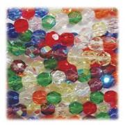 Glasschliffperlen 6mm MIX 100 Stück Rainbow AB
