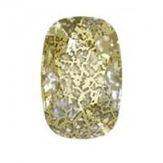 Swarovski Elements Fancy Cushion Stones 14x10mm Gold Patina 1 Stück