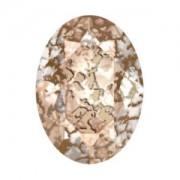 Swarovski Elements Steine Oval 18x13mm Rose Patina 1 Stück