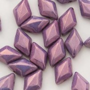 Gemduo 8x5mm Chalk Vega Purple ca 10 Gramm