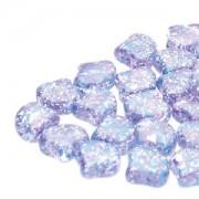 Ginko Beads 8x7mm Confetti Splash Indigo ca 10gr
