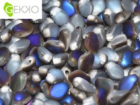 Gekko Beads 3x5mm Crystal Azuro matt ca 10 gr
