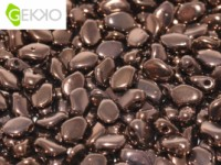 Gekko Beads 3x5mm Jet Bronze ca 10 gr