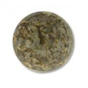 Glas Cabochon rund 18mm Travertine 1 Stück
