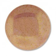 Glas Cabochon rund 24mm Luminous pink Coral 1 Stück