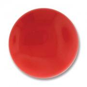Glas Cabochon rund 24mm Red Coral 1 Stück