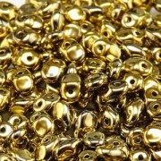 Glasperlen Superuno Beads 2,5x5mm UN0500030-26440-02 Full Amber ca 22gr