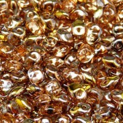 Glasperlen Superuno Beads 2,5x5mm UN0500030-27101-04 Capri Gold ca 22gr