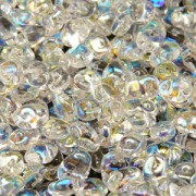 Glasperlen Superuno Beads 2,5x5mm UN0500030-28701-05 Crystal AB ca 22gr