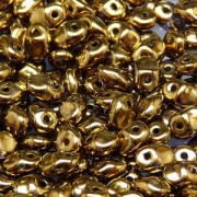 Glasperlen Superuno Beads 2,5x5mm UN0500030-90215-08 Luster Gold ca 22gr