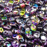Glasperlen Superuno Beads 2,5x5mm UN0500030-95500-13 Crystal Magic Violet Grey ca 22gr