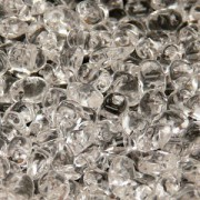 Glasperlen Superuno Beads 2,5x5mm UN0500030-01 Crystal ca 22gr
