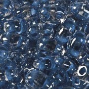 Twin Beads TWN38638 2,5x5mm Crystal Blue Colorlined ca23gr.
