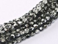 Glasschliffperlen 3mm Crystal Earthtone Metallic Ice 100 Stück
