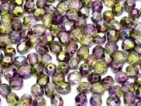 Glasschliffperlen 6mm Crystal Magic Orchid 25 Stück