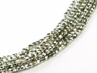 Glasschliffperlen 2mm Crystal Full Labrador ca 150 Stück