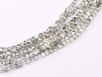 Glasschliffperlen 2mm Crystal Labrador ca 150 Stück