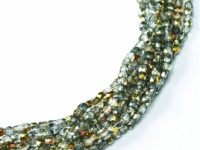 Glasschliffperlen 2mm Crystal Marea ca 150 Stück